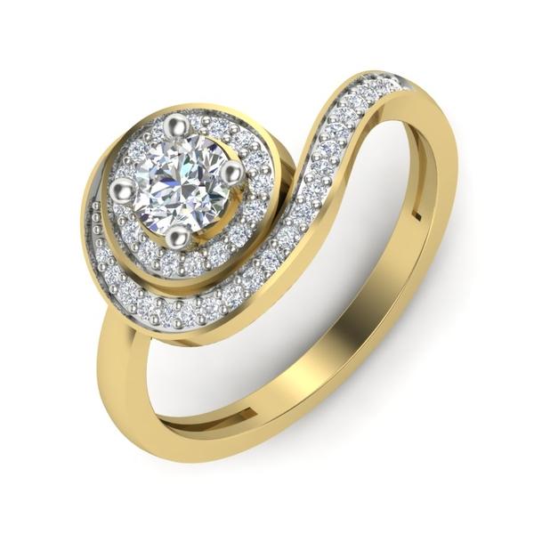 Marry Diamonds Designer Engagement Ring