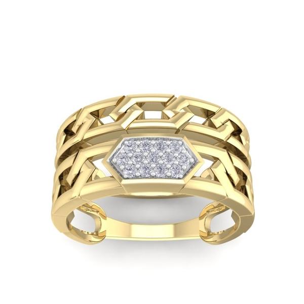 Prong Set Natural Diamond Wedding Ring