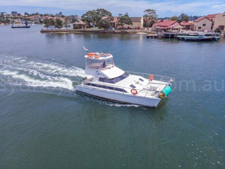 Sydney boat hire on cloud 9 6