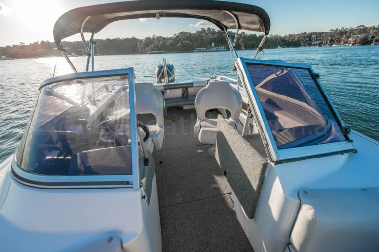 self drive boat hire sydney easyrider 2 22