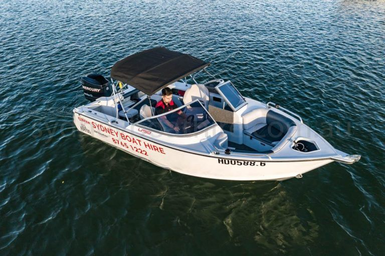 self drive boat hire sydney easyrider 2 33