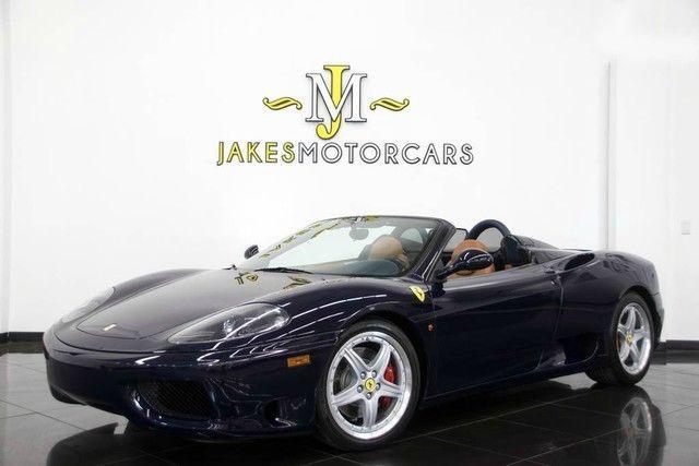 2001 Ferrari 360 Spider – RARE 6 Speed MANUAL