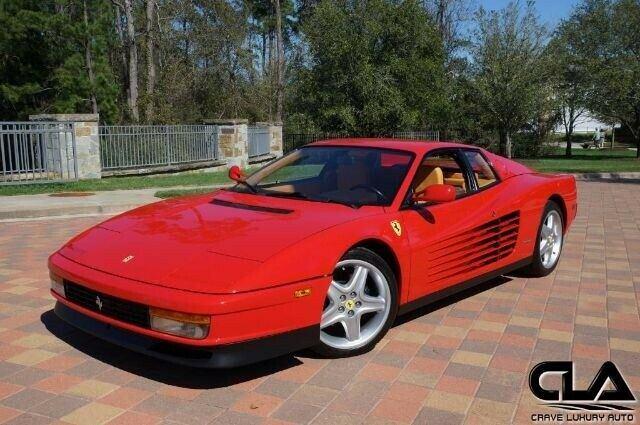 1988 Ferrari Testarossa Manual Rosso Corsa