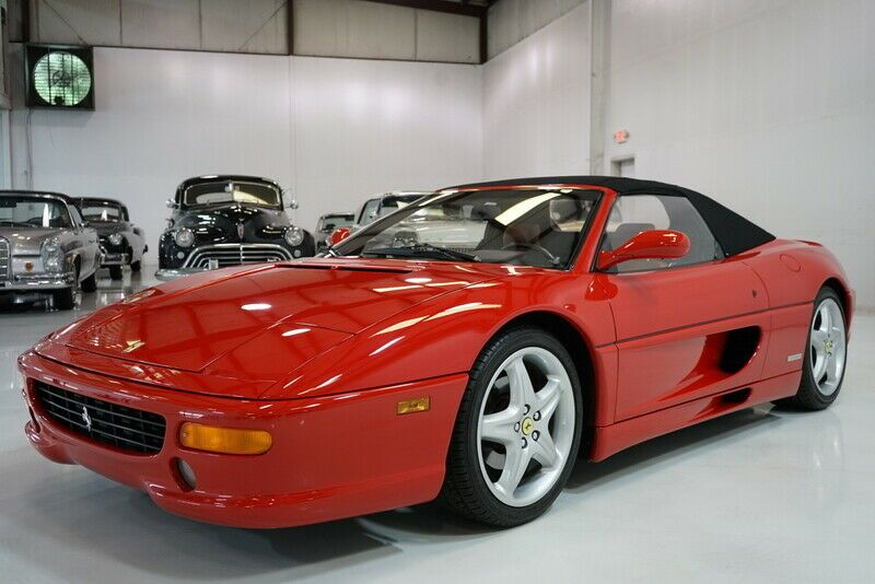 1998 Ferrari 355 F1 Spider   Only 7,225 miles from new!