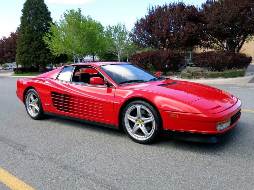 1988 Ferrari Testarossa Coupe