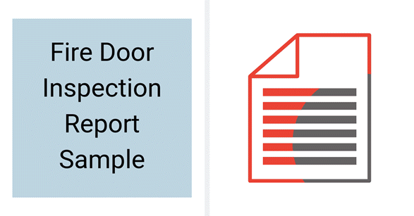 Fire Door Inspection Report