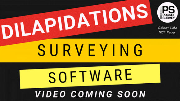 Dilapidations Surveying Software