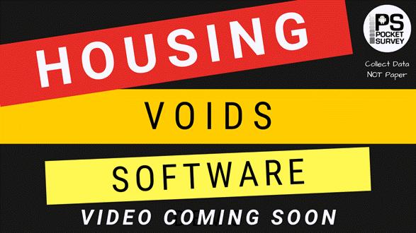 Housing Voids Survey Software