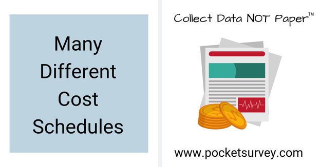 Different Schedules of Rates