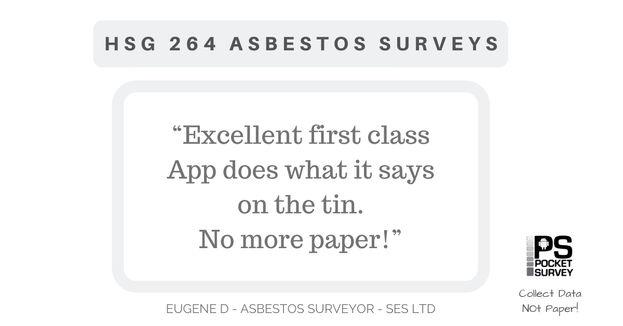 HSG264 Asbestos Surveys