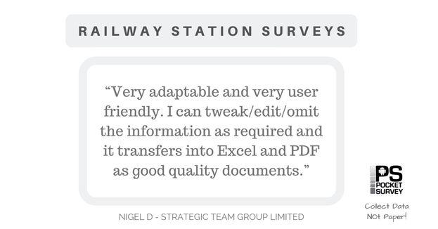 Railway Network Station Surveys