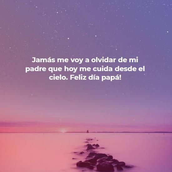 Crea Tu Frase Jamás Me Voy A Olvidar De Mi Padre Que Hoy