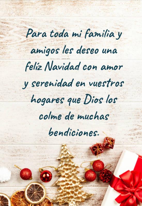 Crea Tu Frase Para Toda Mi Familia Y Amigos Les Deseo Una