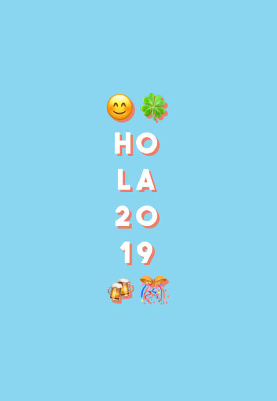 Frases para Año Nuevo - 😊🍀 HO LA 20 19  🍻🎊