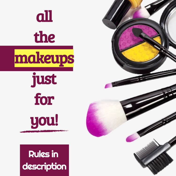 Makeup Sweepstakes Announcement Image