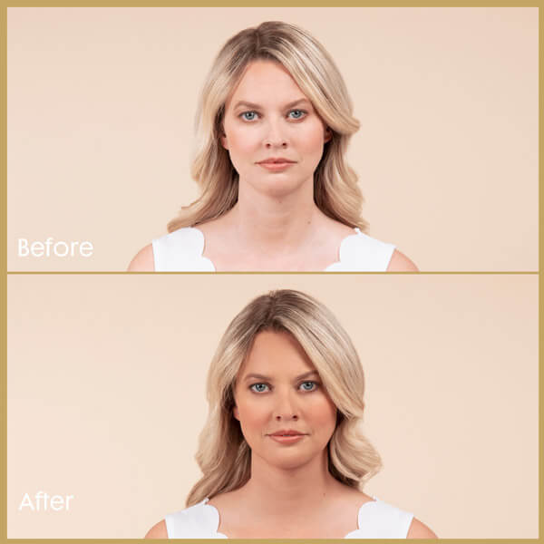 Coconut Water Tan Mist Face - Before and After