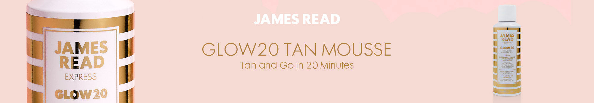 James Read Glow20 Shop Header