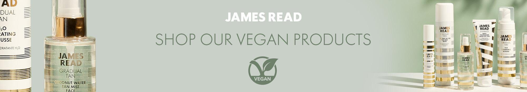 James Read Vegan Shop Header