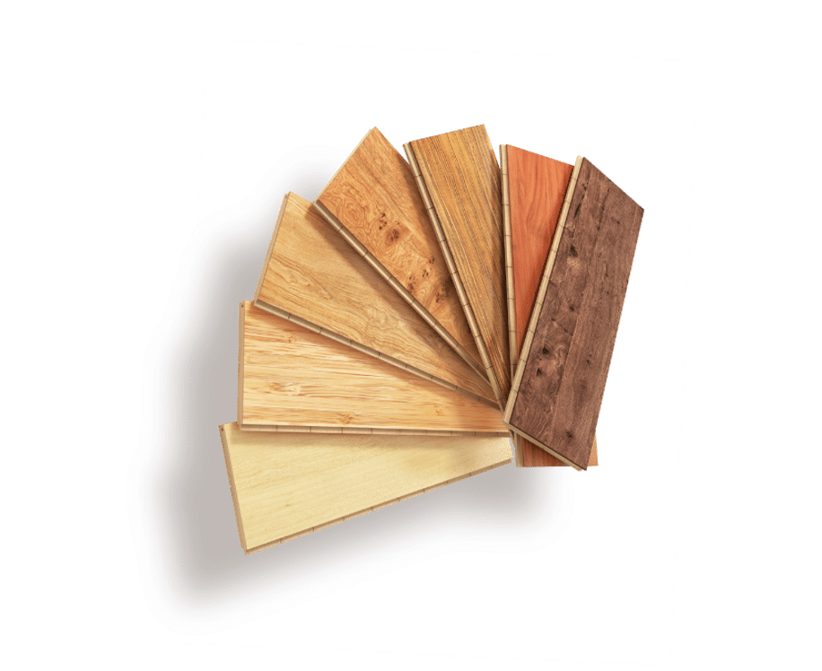 Pallete of wood materials available