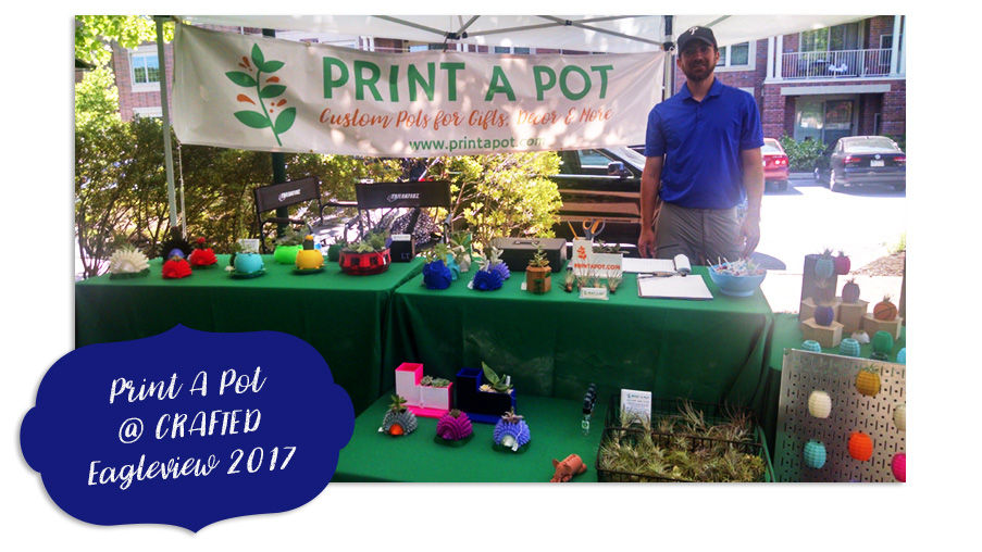 Print A Pot at Crafted Eagleview 2017