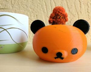 Halloween Panda Pot