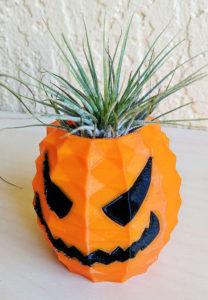 Jack o lantern pineapple