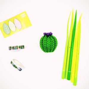 Crochet cactus
