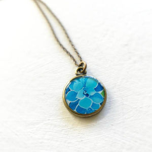 Succulent Necklace by Seedandsky
