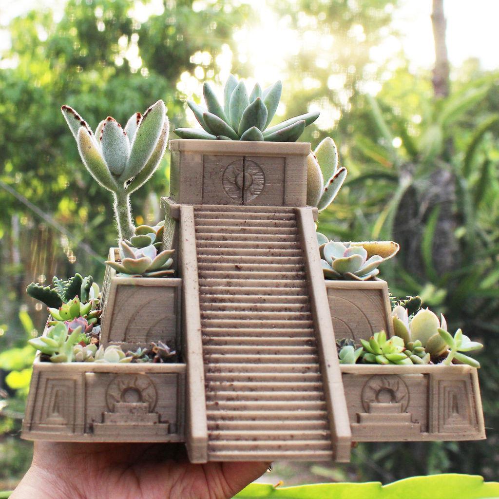 Aztec Succulent Planter