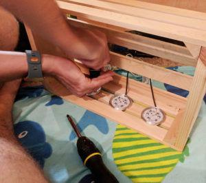 Assembling LED Light Box
