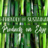 Eco-Friendly & Sustainable Etsy Products