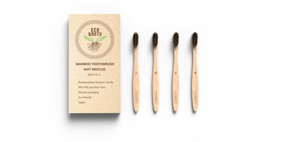 Bamboo toothbrushes by EcoRootsShop