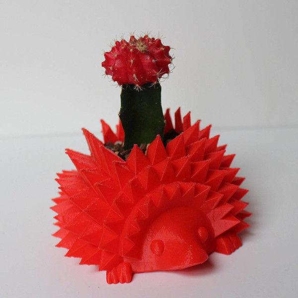 "Baby Hedgehog Pot for Succulent or Cactus, Perfect for 1.5"" Pot ~ Hedgehog Planter, Cactus Pot, Succulent Pot"