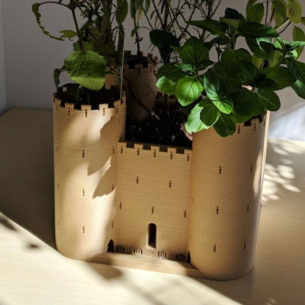 Castle Indoor Herb Garden Planter