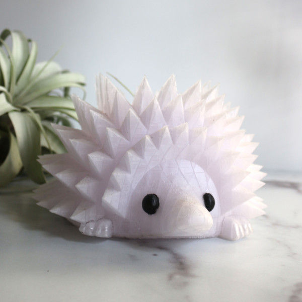 "Large Hedgehog Planter for 3.25"" Plants, Hedgehog Gifts, Animal Planter, Succulent Planter, Cactus Planter, Air Plant Holder"