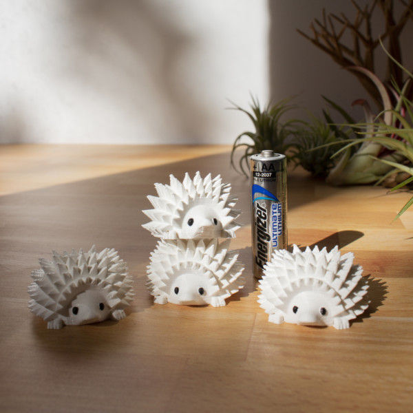 BULK WHOLESALE - Set of 5 Mini Hedgehog Planters for Succulent or Cactus Cuttings, Mini Hedgehog Pots for Plant Boutiques