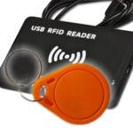 Czytnik i kartka RFID