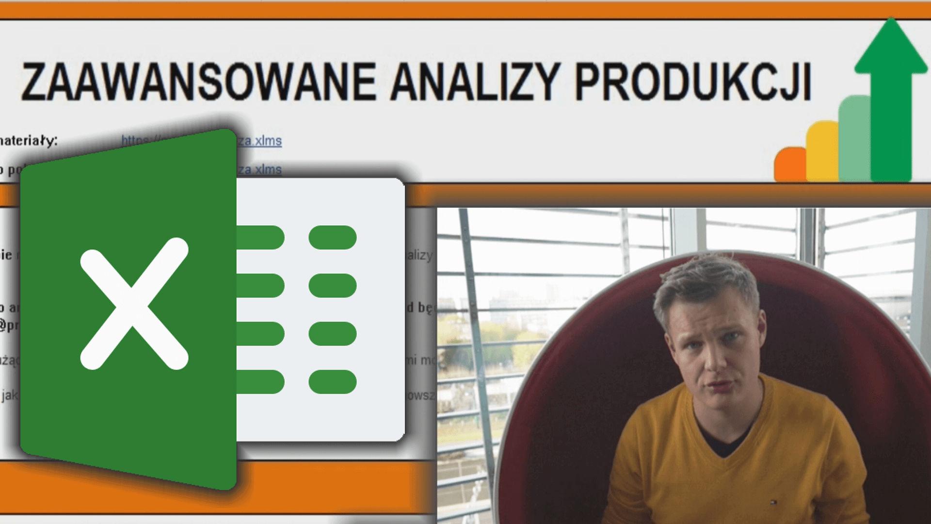 Analiza i rozliczenie produkcji za pomocą MS EXCEL (gotowy arkusz do zaawansowanych analiz historii pracy)