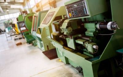 Why is it not reasonable to connect machines at the production hall to the manufacturing control system and production tracking software in small businesses?