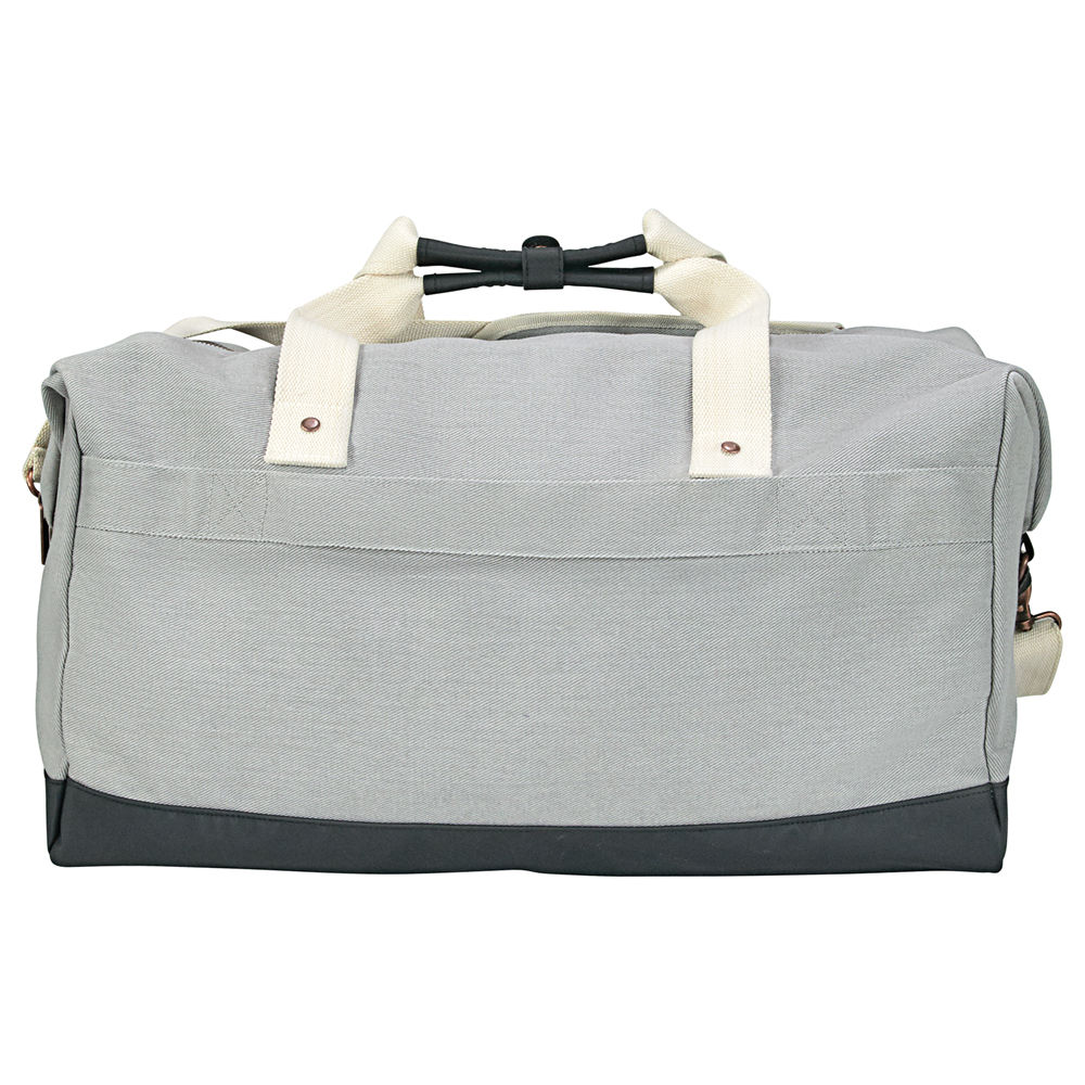 "Cutter & Buck® 19"" Cotton Weekender Duffel"
