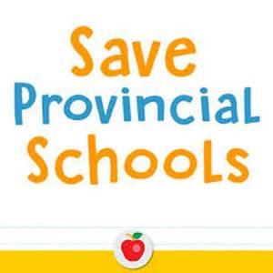 Save Provincial Schools
