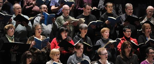 CHORAL SCENE   In the Absence of Singing, Uncertainty