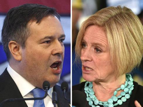 Alberta poll puts Notley's NDP in lead as Premier Kenney's job approval languishes