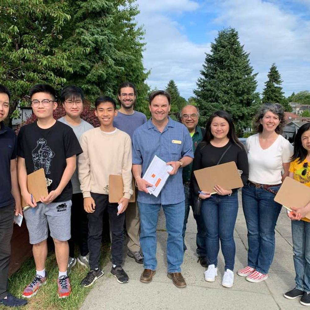 Canvass Blitz with Don Davies