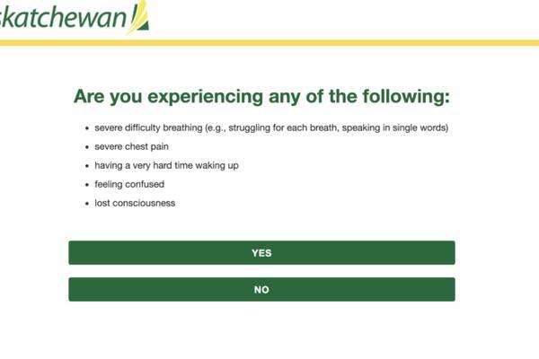 Where provincial coronavirus screening websites are falling short