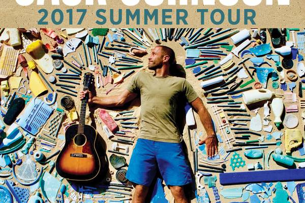 PRIZE GIVEAWAY: Free Jack Johnson concert tickets!