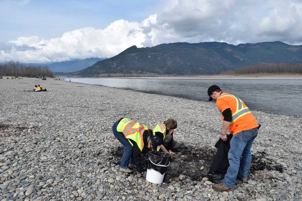 We've removed over 130 tonnes of garbage from the Fraser River, which is HUGE!
