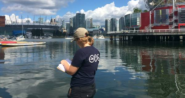 MEDIA RELEASE: Vancouverites Can Now Access Recreational Water Quality Information at False Creek Year-Round