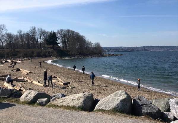Are Vancouverites flocking to the water amidst the COVID-19 outbreak?