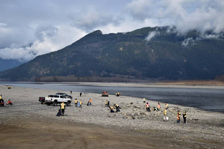 Help clean the Fraser River's banks before spring floods wash garbage into the Salish Sea